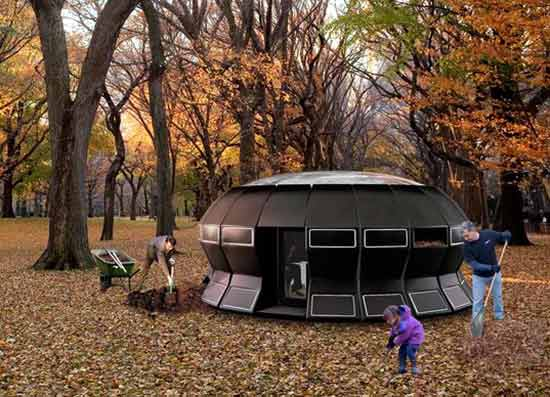 circular-pod-tea-house-is-heated-by-compost