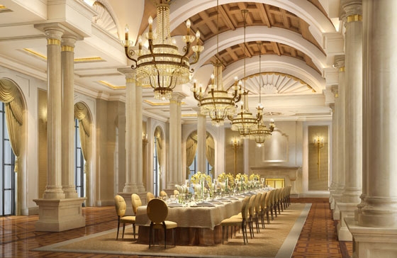 Banquet Hall Architecture
